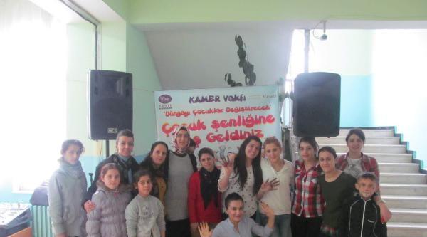 Kamer Hakkari Şubesi Çocuk Şenliği Düzenledi