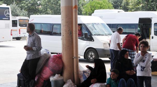 Kampı İstemeyen Suriyeliler Gaziantep'ten Ayrılıyor