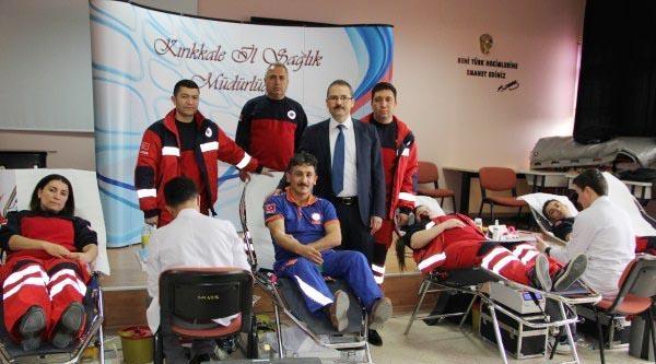 Kan Bağışı Oranı, Nüfusun Yüzde 1'i Kadar