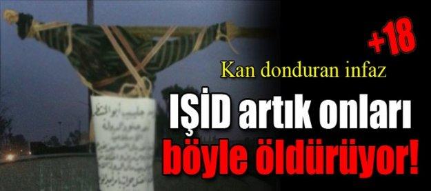 Kan donduran infaz! IŞİD onları artık böyle öldürüyor! (+18)