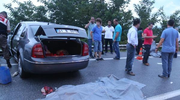 Kandıra Yolu'nda Kaza: 2 Ölü, 5 Yaralı