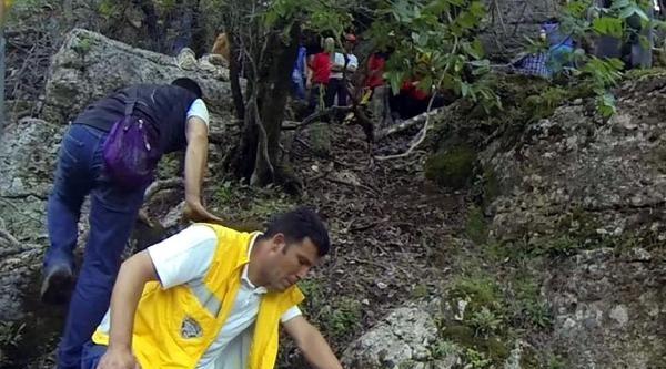 Kanyonda Yaralanan Genç, Sağlık Görevlisinin Oğlu Çikti