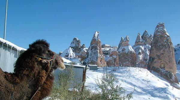 Kapadokya'  Da Artık  Turizm  Dört Mevsim  Dört Mevsimde De Büyülüyor