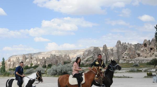 Kapadokya'da At Çiftlikleri Gözde