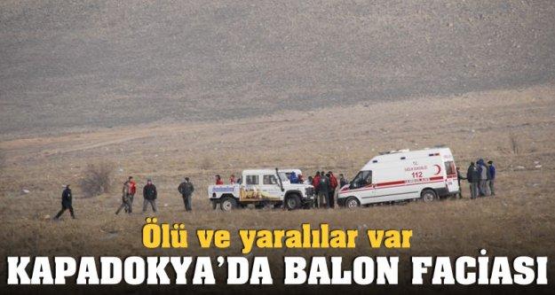 Kapadokya'da balon kazası: 1 ölü!