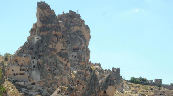 Kapadokya'da Bayramda Deve Turu