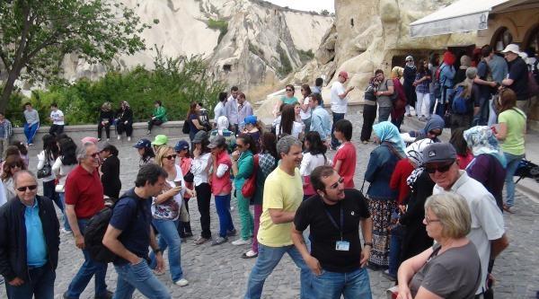Kapodakya'yı 5 Ayda 1 Milyon Turist Gezdi