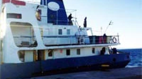 Kaptani Türk Olan Yük Gemisi, Rodos'Ta Tutuluyor