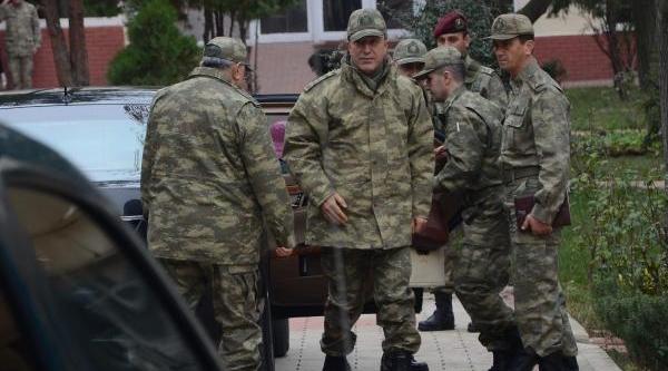 Kara Kuvvetleri Komutani Akar Çorlu'Da Birlikleri Denetledi