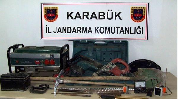 Karabük'te Definecilere Suçüstü