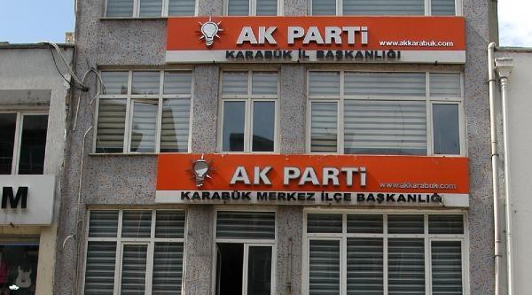 Karabük'te Tek Kişilik Protesto
