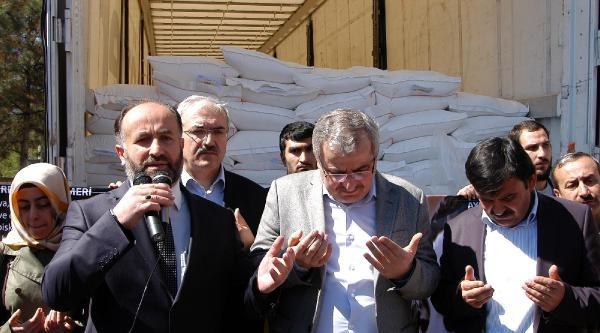 Karabük'ten Suriye'ye 125 Ton Un