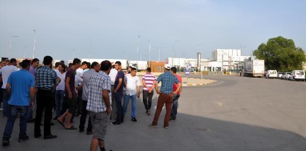 Karacabey'de Nestle İşçileri Eylem Yapıyor