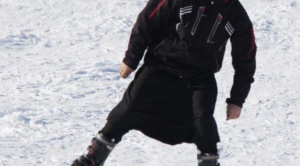 Karacadağ'da Kayak Sezonu Açildi