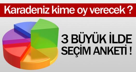 Karadeniz kime oy verecek ?