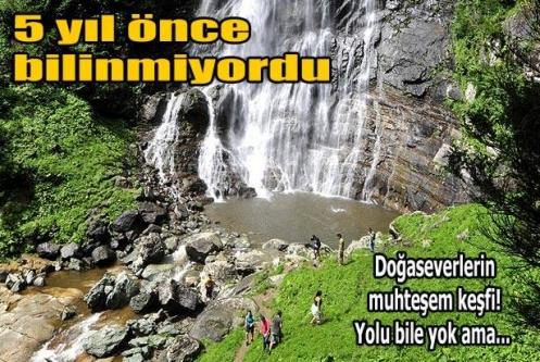 Karadeniz'de turistlerin yeni gözdesi Kamilet Vadisi