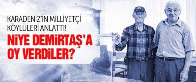 Karadenizli köylüler anlattı: Neden Demirtaş'a oy verdik?