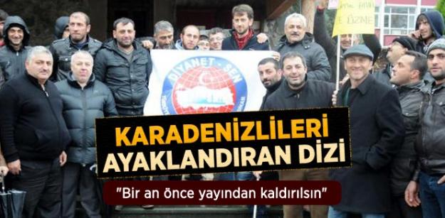 Karadenizlilerden 'Benim İçin Üzülme' Dizisine Tepki!