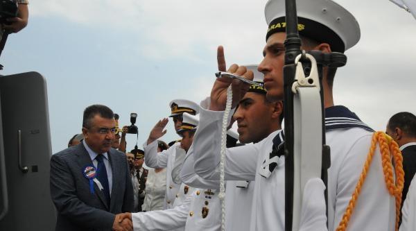 Karakol Gemisi 'tcg Karataş' İskenderun'da Göreve Başladı