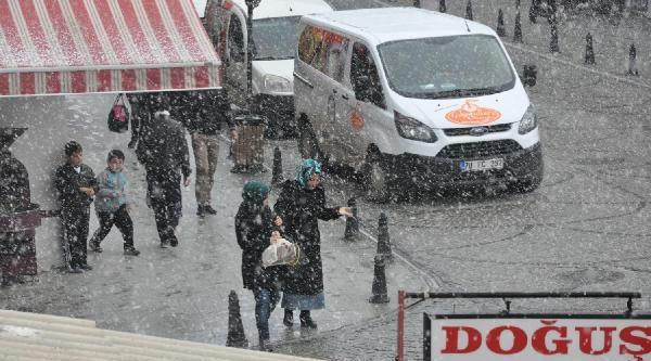 Karaman'da 5 Dakikada Tipi, Kar, Güneş