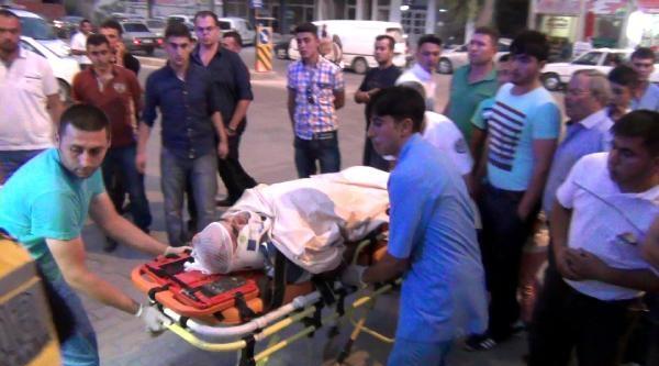 Karapınar'da  Kaza: 2 Yaralı