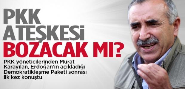 Karayılan açıkladı: PKK ateşkesi bozacak mı?