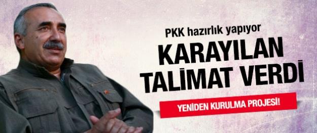 Karayılan talimat verdi PKK hazırlanıyor!