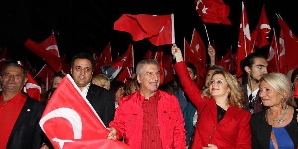 Karşiyaka'da Cumhuriyet Coşkusu