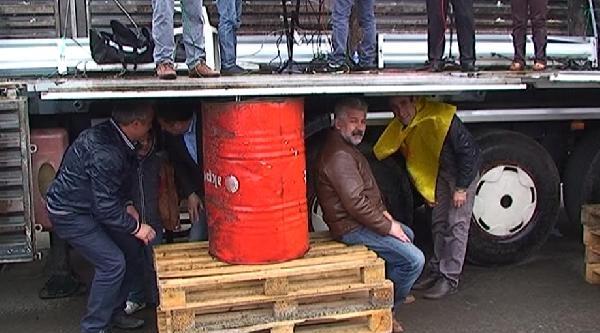 Kars'ta 1 Mayıs Yağmurda Kutlandı