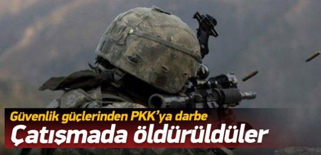Kars'ta PKK'ya ağır darbe: 3 ölü!