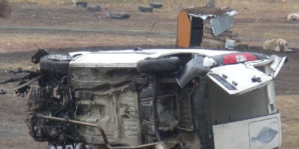 Kars'Taki 2 Kazada 1 Kişi Öldü, 2 Kişi Yaralandi