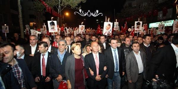 Kartal'Da Cumhuriyet Yürüyüşü