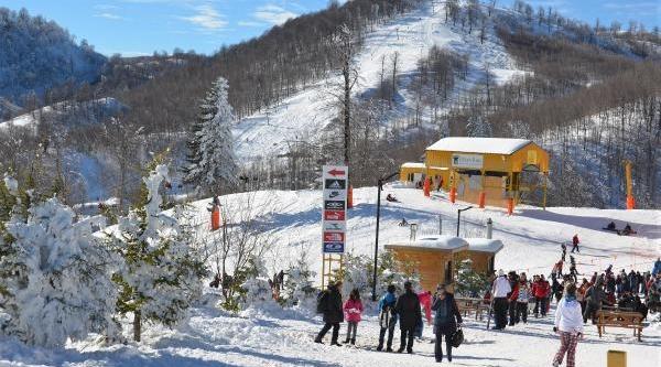 Kartepe Kayak Meraklilarin Akinina Uğradi
