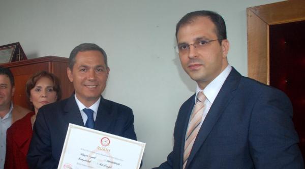 Kastamonu Belediye Başkanı Babaş Mazbata Aldı