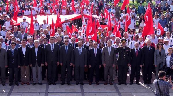 Kastamonu'da Atatürk Ve İstiklal Yolu Yürüyüşü Sona Erdi