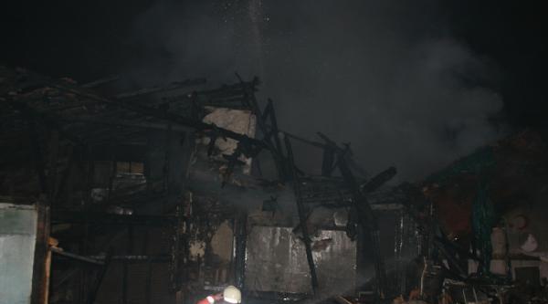 Kastamonu'da Aynı Evde İkinci Yangın