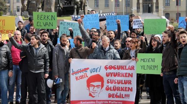 Kastamonu'da Berkin Elvan Protestosu