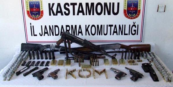 Kastamonu'da Kaçak Silah Operasyonu: 2 Gözalti