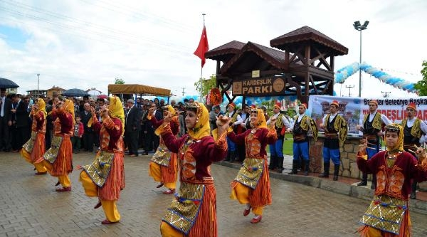 Kastamonu'da Kardeşlik Parkı Açıldı