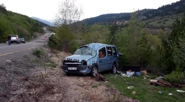 Kastamonu'da Kaza: 1 Ölü, 1 Yaralı