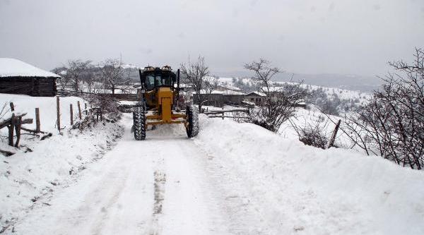 Kastamonu'da Okullarda Kar Tatili (2)