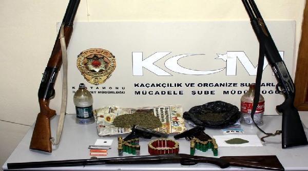 Kastamonu'da Uyuşturucu Operasyonu: 16 Gözaltı