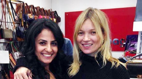 Kate Moss, Bodrum'dan Ayrılamadı