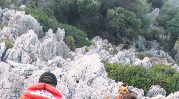 Kaybolan Turistleri Sahil Güvenlik Buldu