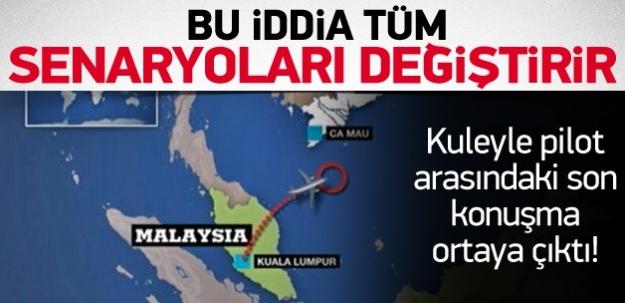 Kaybolan uçakla ilgili müthiş iddia!