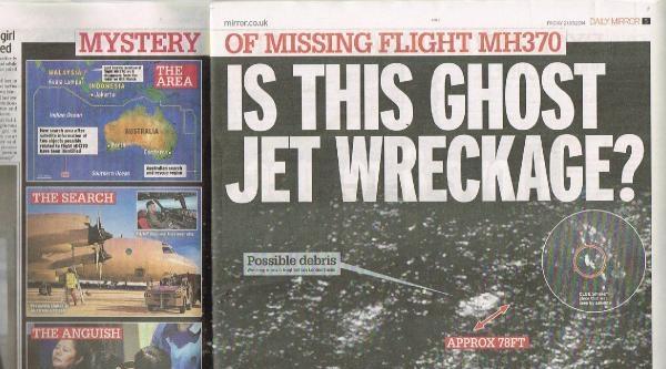 Kayıp Uçağa Dair İddialar Bitmiyor