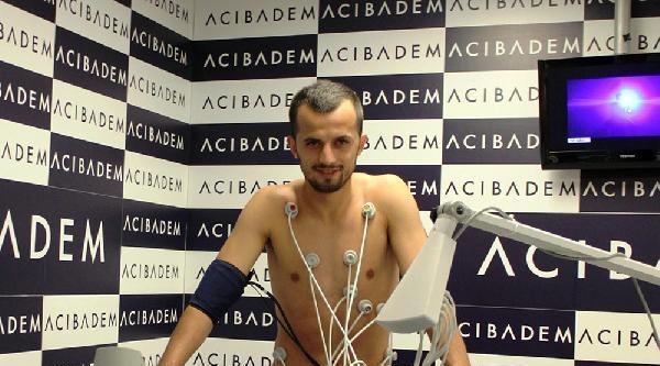 Kayseri Erciyesspor'da Sağlık Kontrolü Tamamlandı