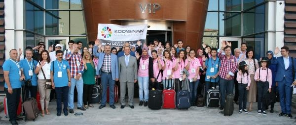 Kayseri Kocasinan Belediyesi, Başarılı Öğrencileri Avrupaya Gönderdi