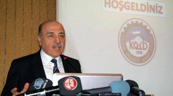 Kayseri Osb Başkani Hasyüncü'Nün Kriz Korkusu