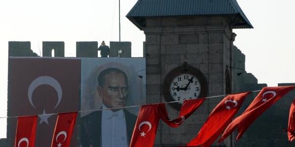 Kayseri'de 10 Kasim